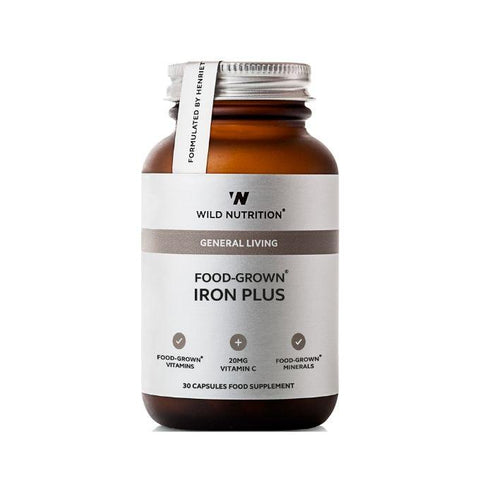 Wild Nutrition Food Grown Iron Plus - Muscle X