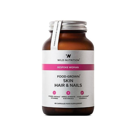 Wild Nutrition Food Grown Skin Hair & Nails - Muscle X