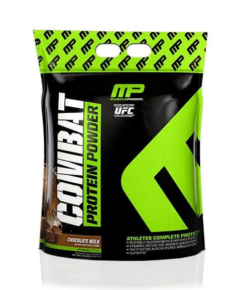 MusclePharm Combat Protein Powder - 10lb - Muscle X