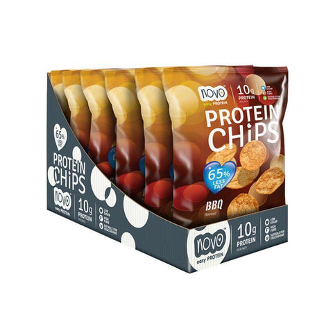 Novo Nutrition Protein Chips – 6x 30g - Muscle X