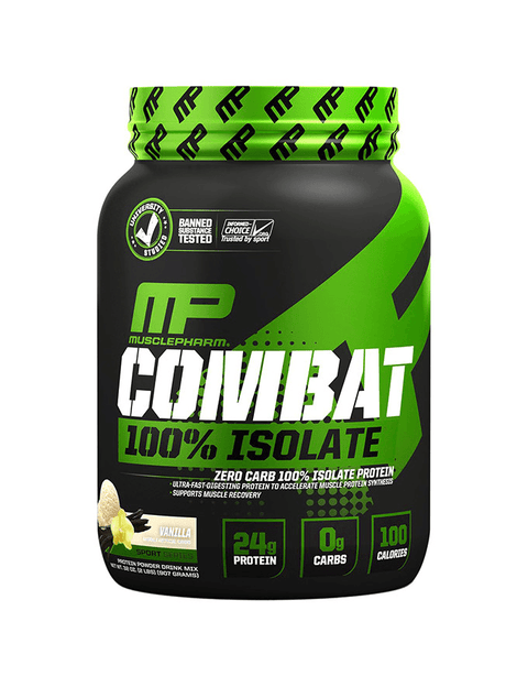 MusclePharm Combat 100% Isolate 2lb - Muscle X