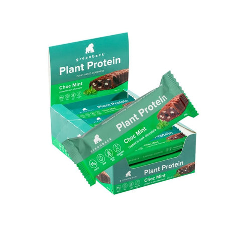 Greenback Plant Based Protein Bars