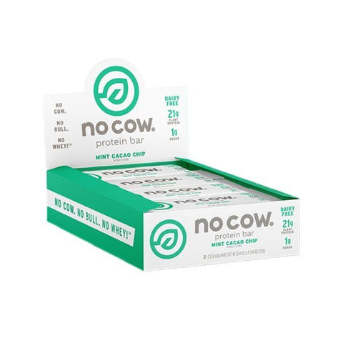 No Cow Vegan Protein Bar – 12x 60g - Muscle X