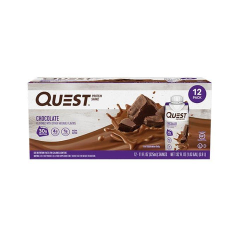 Quest Nutrition Protein Shakes - Muscle X