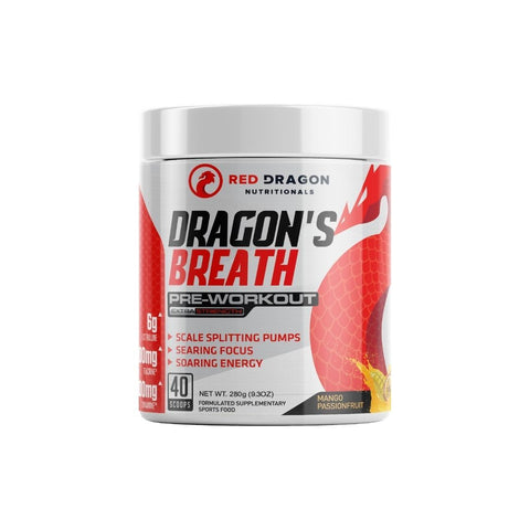 Red Dragon Nutritional Dragon's Breath Preworkout