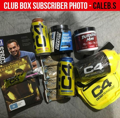 Muscle X Club Box - Muscle X