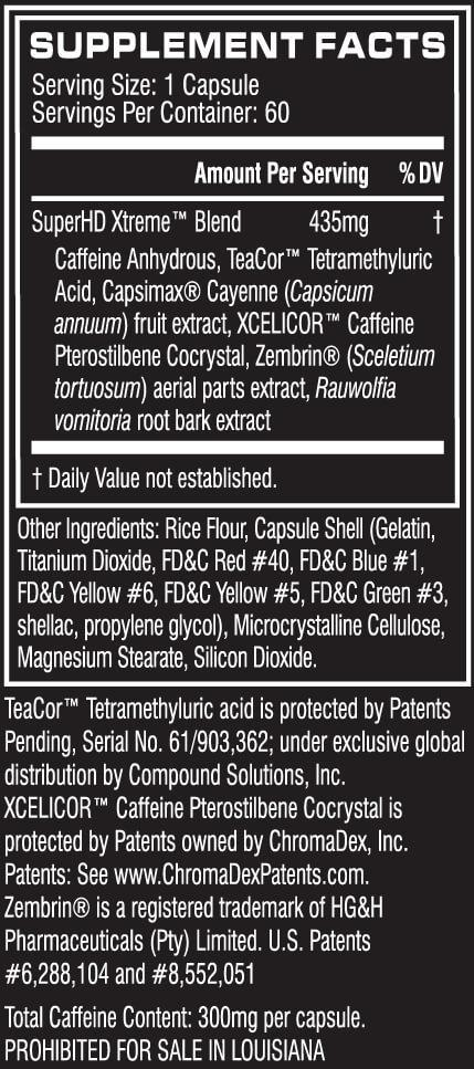 Cellucor Super HD Xtreme (Capsules)