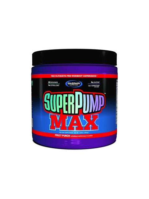 Gaspari Nutrition SuperPump MAX - Muscle X
