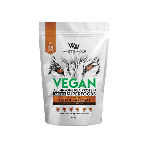 White Wolf Vegan Protein Blend 400g - Muscle X