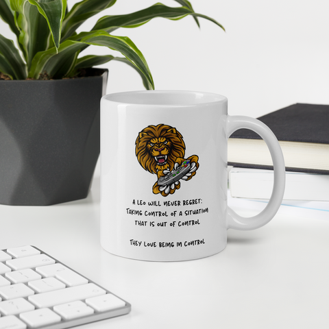 Leo Mug | A Leo Loves Being in Control