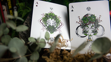 Load image into Gallery viewer, The Green Man Playing Cards (Spring) by Jocu