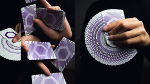 Mono Hexa Playing Cards by Luke Wadey Design