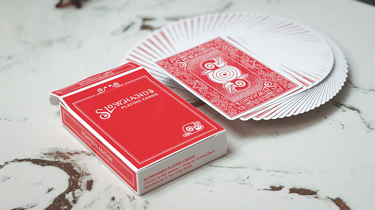 Slow Hands Playing Cards by Kier Gomes