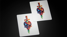 Load image into Gallery viewer, Furious Skull Playing Cards