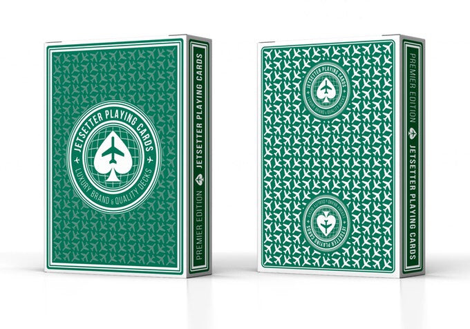 Jetsetter Playing Cards Green