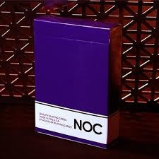 Noc Purple Playing Cards by Alex Pandrea
