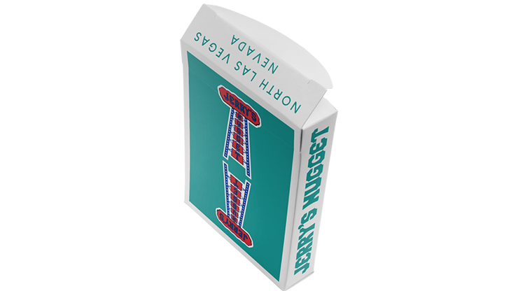 Modern Feel Jerry's Nuggets (Teal) Playing Cards