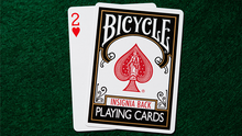 Load image into Gallery viewer, Bicycle Insignia Back (Black) Playing Cards