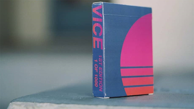 Vice Playing Cards by occupied cards