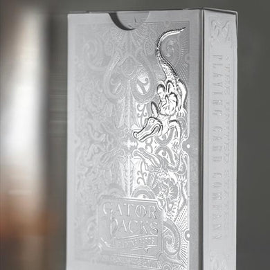 Silver Gatorbacks by David Blaine (Featured Product)