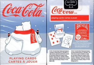 Coca-Cola Coke Holiday Polar Bear Playing Cards