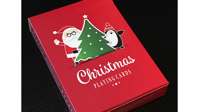 Christmas playing cards (USPCC)