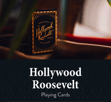 Load image into Gallery viewer, Hollywood Rosevelt Playing Cards by Theory11