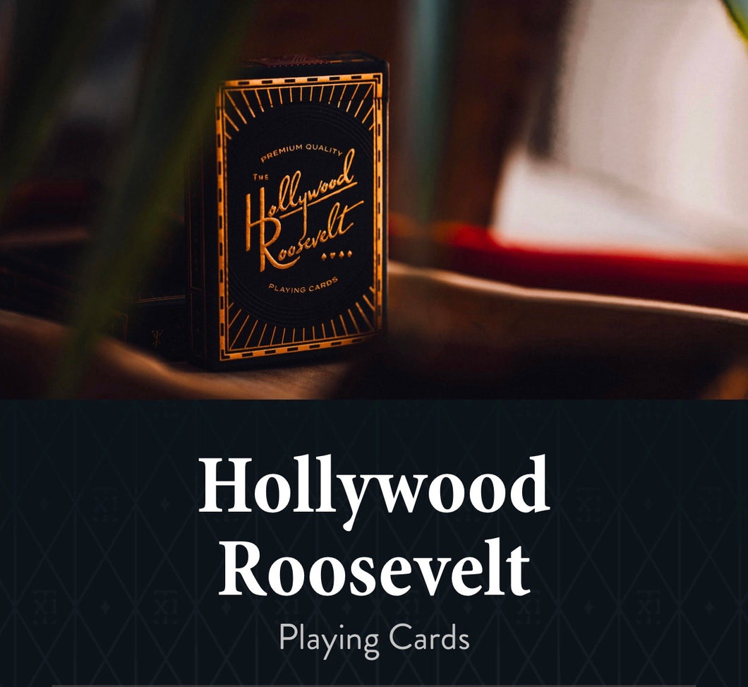 Hollywood Rosevelt Playing Cards by Theory11