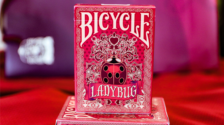 Bicycle Guilded Limited  to 400 Lady Bug Red Playing Cards