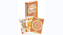 Load image into Gallery viewer, Tally-Ho Autumn Circle Back Playing Cards