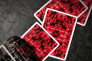 Untitled V2 Playing Cards by Adam Borderline