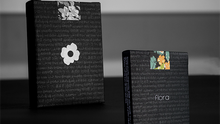 Load image into Gallery viewer, Limited Edition Black Flora Playing Cards