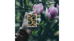 Limited Edition Black Flora Playing Cards