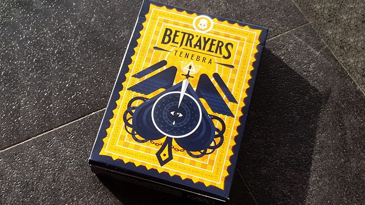 Betrayers Tenebra Playing Cards by Giovanni Meroni