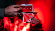 Load image into Gallery viewer, X Deck (Red) Signature Edition Playing Cards by Alex Pandrea