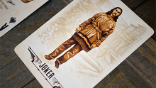 Load image into Gallery viewer, Wild West Deadwood Playing Cards