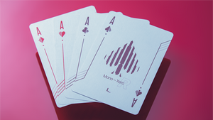 Mono Xero -R playing cards by Luke Wadey Design