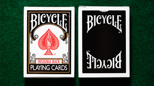 Bicycle Insignia Back (Black) Playing Cards