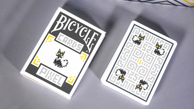 Limited 1000 Bicycle Pixel Cat Playing Cards