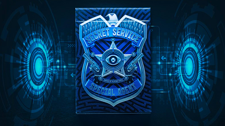 Secret Service Playing Cards by RiffleShuffle