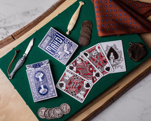 Hidden Leaves Playing Cards By Mahdi the Magician USPCC