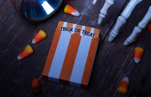 Trick or Treat Halloween Playing Cards by Kings Wild Project