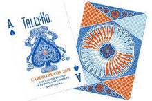 Load image into Gallery viewer, SEALED Tally Ho Cardistry Con Playing Cards 2018