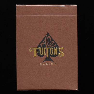 SOLD OUT Ace Fulton's Casino, Vintage Back Brown