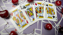 Load image into Gallery viewer, Cherry Casino Fremonts (Desert Inn Purple) Playing Cards by Pure Imagination Projects