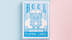 Bicycle Lovely Bear Cards - Light Blue (Limited Edition)