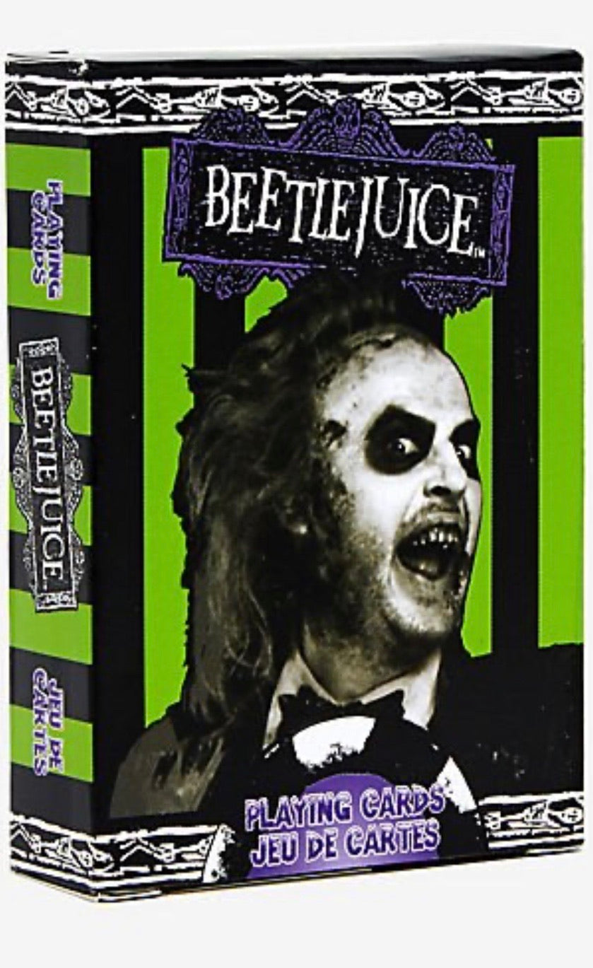 BeetleJuice Playing Cards by Aguarius