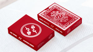Black Roses Red Playing Cards by Daniel Schneider