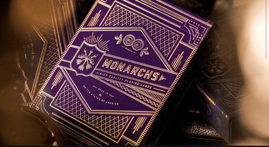 Purple Monarch Playing Cards