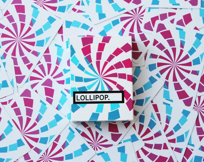 Lollipop Playing Cards Deck by Flaminko • Limited Numbered Seal Of Only 800